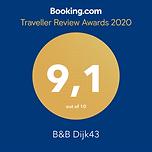 Booking.com score 2020
