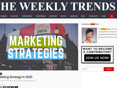 The Weekly Trends. Smart cyber-marketing almost does itself, says Cira Apps