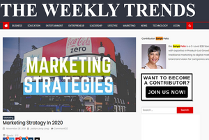 TheWeeklyTrends.com. Smart cyber-marketing almost does itself, says Cira Apps