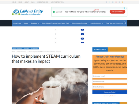 EdNews Daily. In STEAM education, it's not the screens but the thinking, says Digital Media Academy