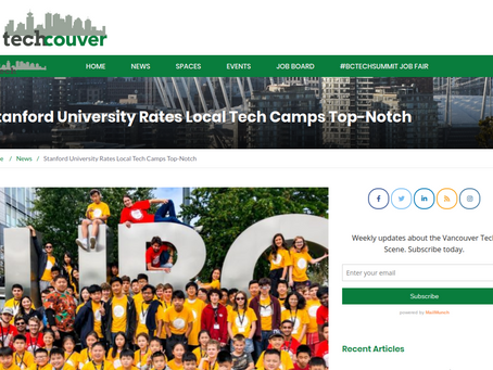 Techcouver. Stanford likes, follows Digital Media Academy