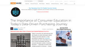 CMSWire. Thought leadership the quickest route to happy customers, Cira Apps says