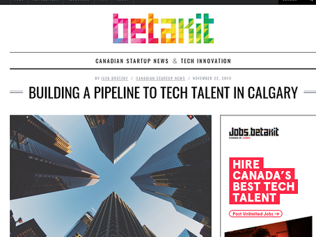 Betakit. Triggering a Tech Stampede in Western Canada with VanHack