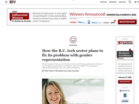 Business in Vancouver. Simple benchmarks the route to gender equality, says Unbounce