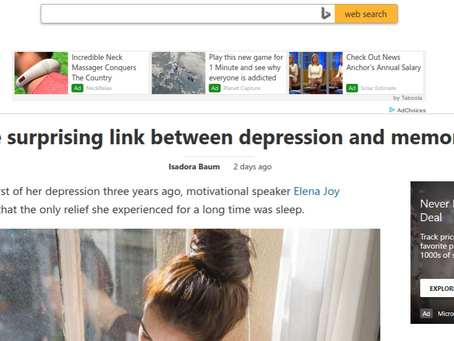 MSN.com. Tech available to treat depression in troubled times, says Neurogenex