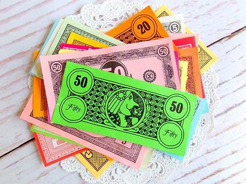 Vintage Play Money Pack