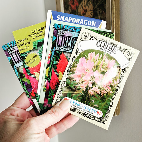 Seed Packets / Flowers