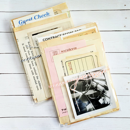 Mini Vintage Paper Pack