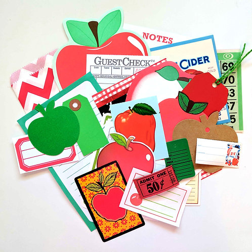 Apples Ephemera Pack