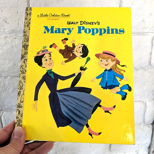 Little Golden Book / Mary Poppins