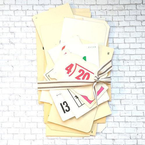 Vintage Flash Card Pack