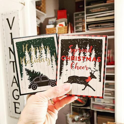 Christmas Ephemera Box / 35+ Pieces