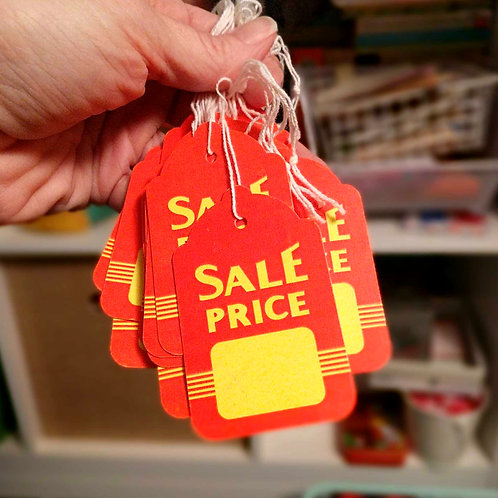 Sale Price Hang Tags