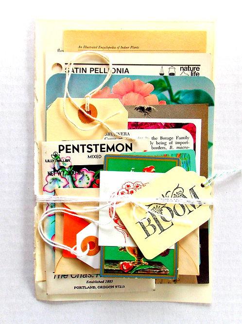 Vintage Garden Ephemera Pack
