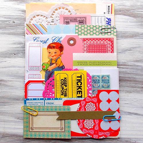 Jumbo Ephemera Paper Pack / Vintage & New