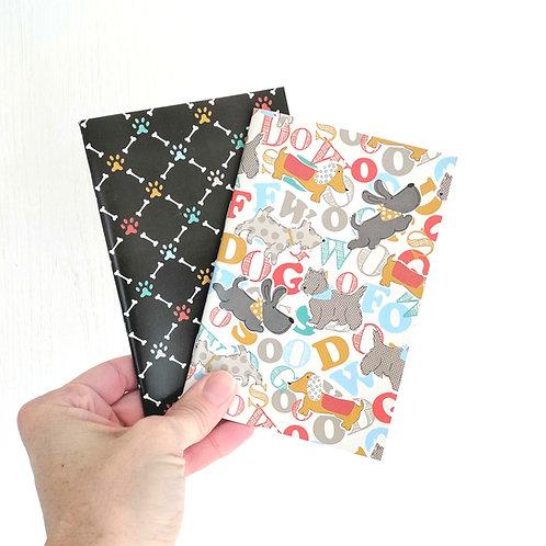 Mini Paper Notebooks / Dog Gone