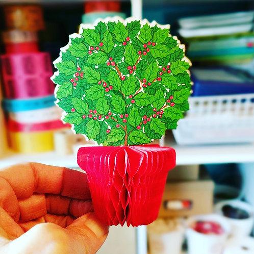 Mini Christmas Honeycomb Decoration / Tree