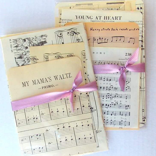 Vintage Music Ephemera Pack