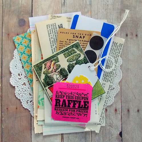 Super Mini Paper Pack / Vintage & New