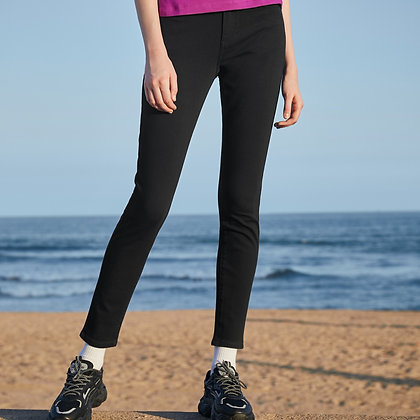 Ladies' Denim Jeans (Black)
