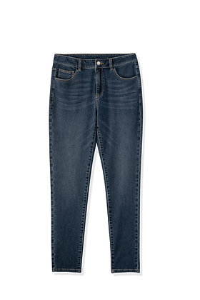 Ladies' Denim Jeans (Dark Wash)