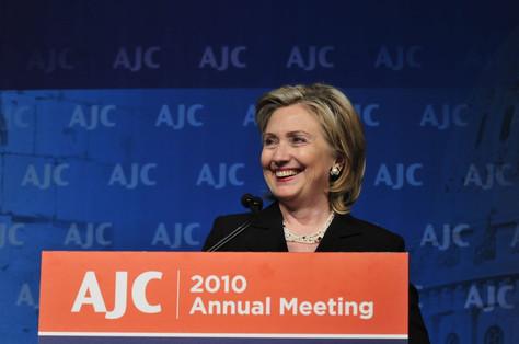 #17 Hillary Clinton at AJC Annual Meeting, 2010