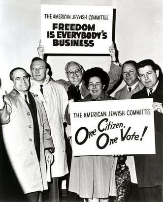 #44 AJC delegation to Selma - One Citizen One Vote!