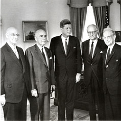 #28 AJC Officers and John F. Kennedy, 1962