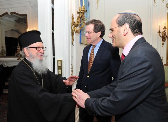 #23 AJC Leaders with Eminence Archbishop Demetrios