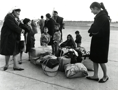 #42 Jewish Refugees from Algeria arrive in France
