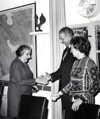 #6 Golda Meir with AJC mission
