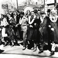 SOLD #11 Rabbi Heschel Marching with Dr. Martin Luther King, Jr.