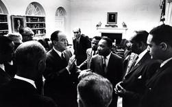 #1 Hubert H. Humphrey and Dr. Martin Luther King