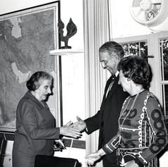 #9 Golda Meir with AJC mission