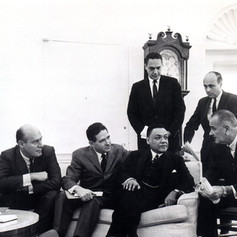 #2 AJC Meets with LBJ in the Oval Office