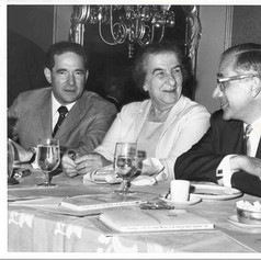 #7 Golda Meir at AJC Annual Meeting, 1968