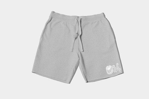 M.I.L.K Grey Logo Shorts