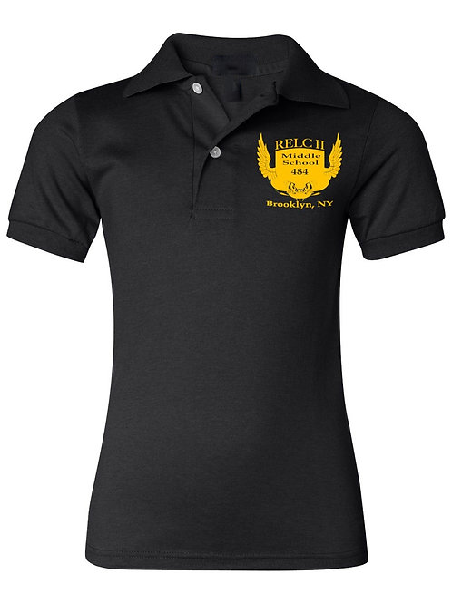 M.S. 484 Youth Polo Shirt