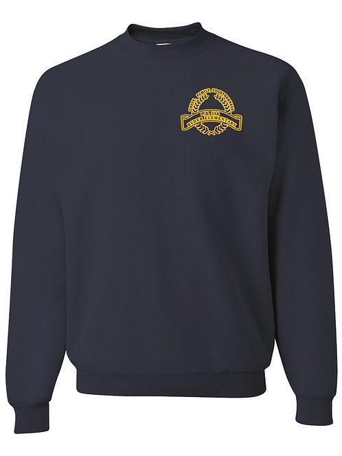 P.S, 114 Staff Sweatshirt Gold Logo
