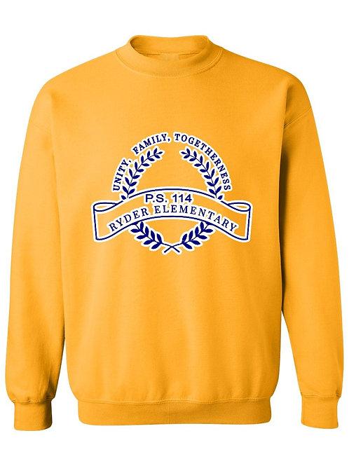 P.S. 114 Staff Sweatshirt Large Logo