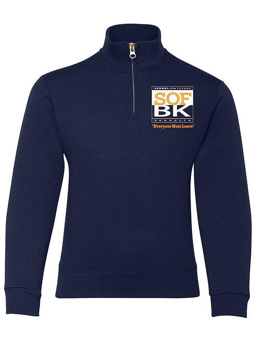 SOF Quarter-Zip Collar Sweatshirt