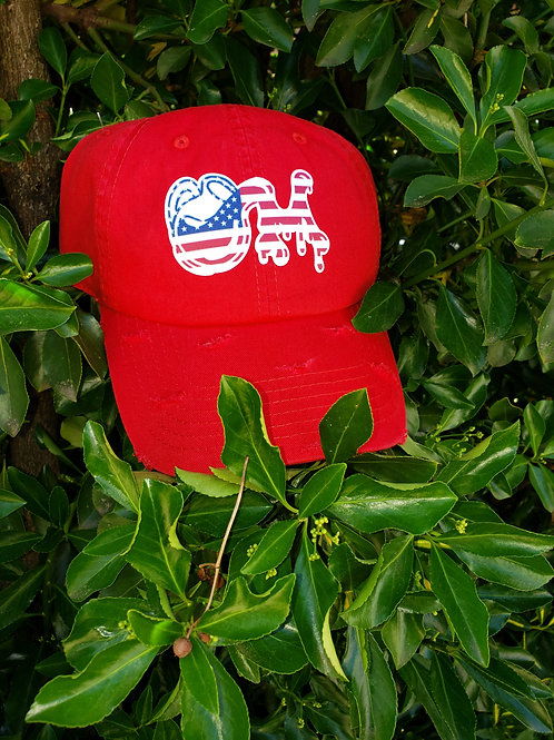 "U.S.A""Making It Look Kool"" M.I.L.K Dad Hat"