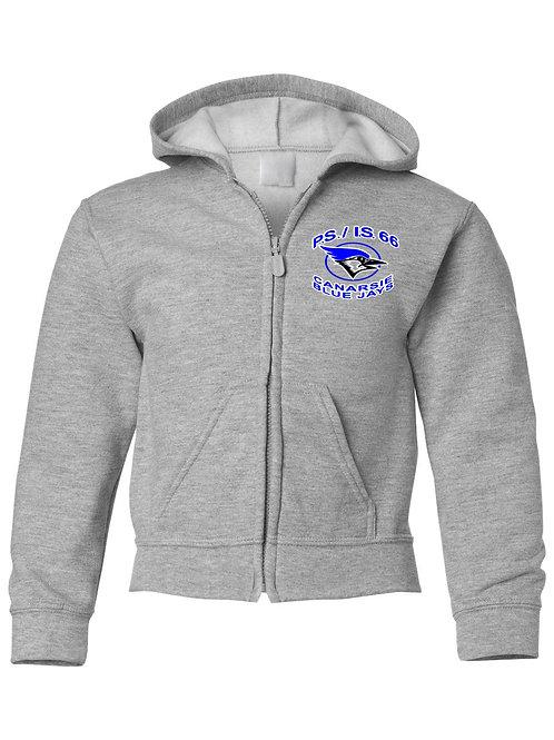P.S./I.S 66 Zip-Up Hooded Sweatshirt