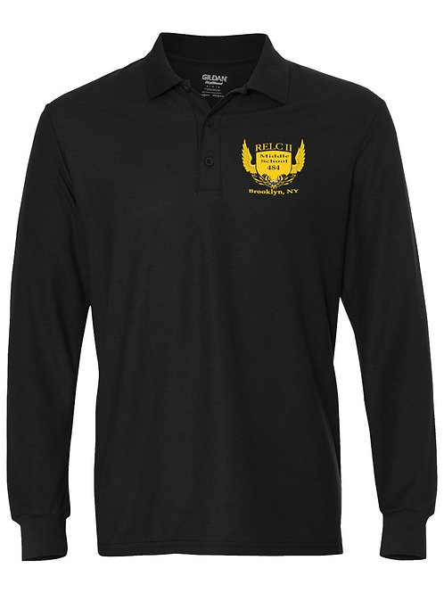 M.S. 484 Long Sleeve Polo