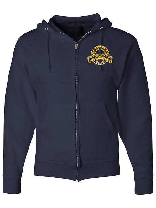 P.S. 114 Staff Zip Up Hooded Sweatshirt