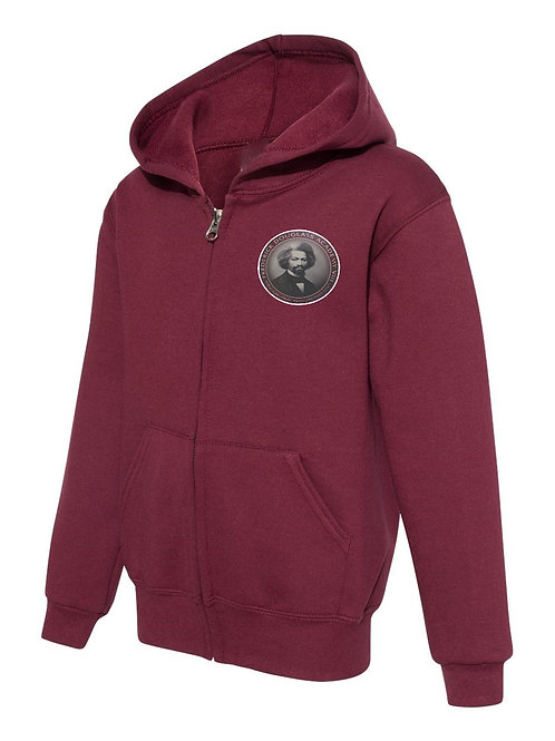 FREDERICK DOUGLASS ACADEMY VIII ZIP -UP HOODED SWEATSHIRT