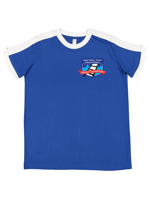 Logo White Stripe T-shirt