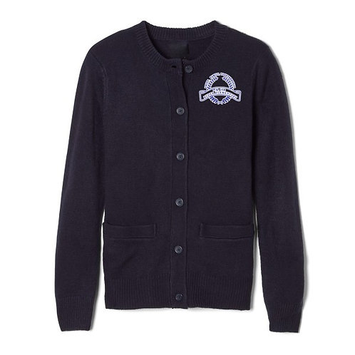 P.S.114 RYDER ELEMENTARY YOUTH CREWNECK CARDIGAN
