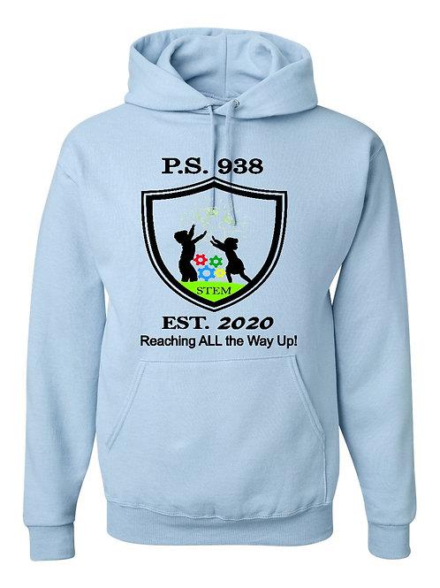 P.S. 938 Hooded Sweatshirt Large Logo