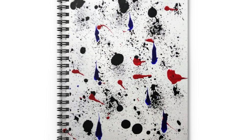 Snowman Spiral Notebook - Ruled Line